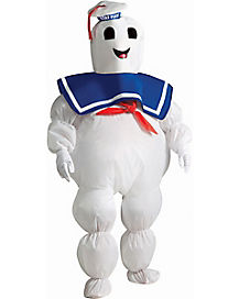 Ghostbusters Stay Puft Marshmallow Man Inflatable Boys Costume