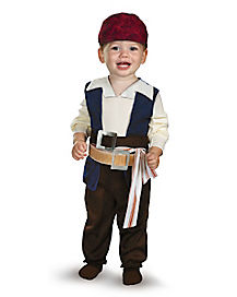Pirates of the Caribbean Captain Jack Sparrow Toddler Costume
