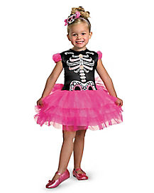 Toddler Skullerina Costume