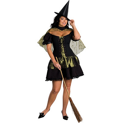 Wicked Witch of the West Adult Womens Plus Size Costume