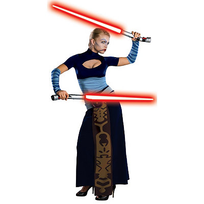 Star Wars Clone Wars Asajj Ventress Adult Womens Costume