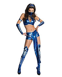 Mortal Kombat Kitana Adult Womens Costume