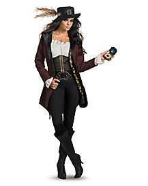 Adult Angelica Plus Size Costume Deluxe - Pirates of the Caribbean