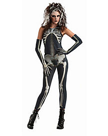 Skelee Girl Adult Womens Costume