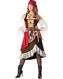 Adult Deckhand Darling Pirate Costume - Theatrical