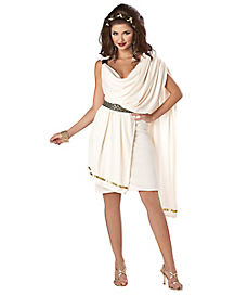 Adult Toga Dress Costume - Deluxe