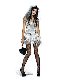 Marry Me Dead Zombie Bride Adult Womens Costume