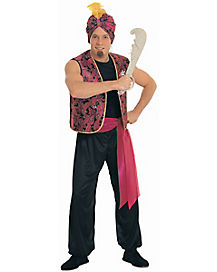 Sultan Mens Costume