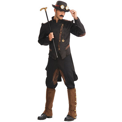 Vintage Men's Costumes – 1920s, 1930s, 1940s, 1950s, 1960s Adult Gentleman Steampunk Costume $49.99 AT vintagedancer.com