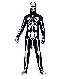 Adult Skeleboner One Piece Costume