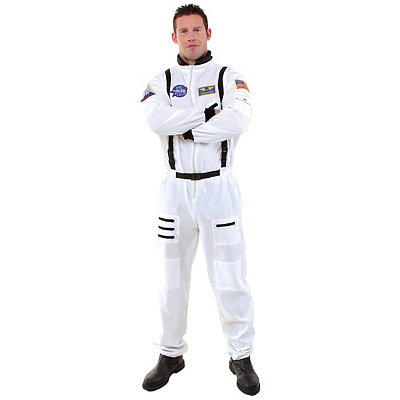 Astronaut Adult Mens Plus Size Costume