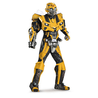 Transformers Bumblebee Mens Theatrical Costume