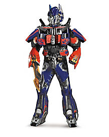 Adult Optimus Prime Costume Theatrical - Transformers
