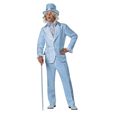 Halloween Costumes | Halloween Dumb and Dumber Harry Dunne Blue Tuxedo Deluxe Adult Mens Costume
