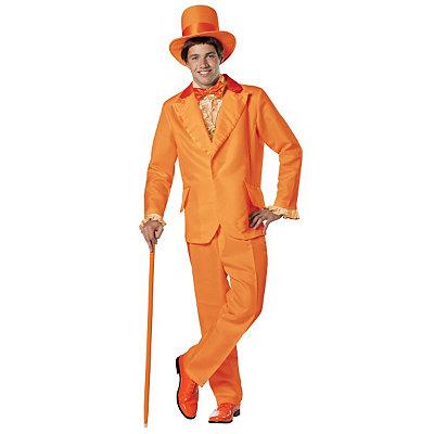 Halloween Costumes | Halloween Dumb and Dumber Lloyd Christmas Orange Tuxedo Deluxe Adult Mens Costum