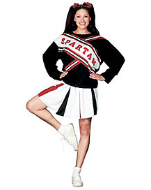 Adult Spartan Cheerleader Costume - Saturday Night Live
