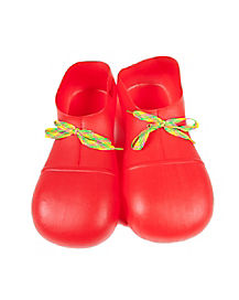 Kids Red Clown Shoes