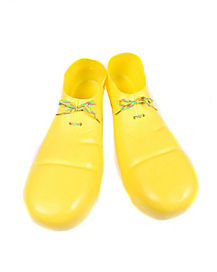 Child Yellow Clown Shoes
