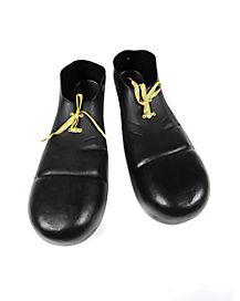 Black Clown Shoes