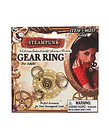 Gear Steampunk Ring