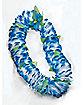 Blue Floral Lei