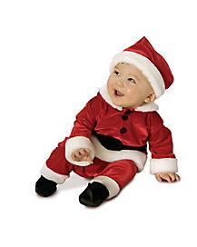 Baby Velvet Santa Costume