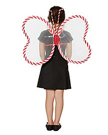 Candy Cane Fairy Wings