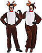 Reindeer Plush Adult Costume