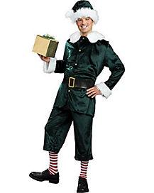 Adult Green Jolly Helper Elf Costume