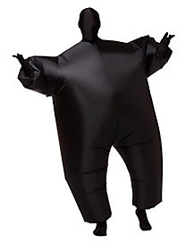 Adult Black Blimpz Inflatable Costume - Decorations
