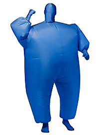 Adult Blue Inflatable Blimpz Costume