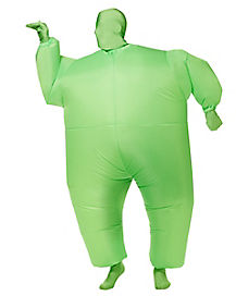 Adult Green Inflatable Blimpz Costume