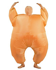 Adult Inflatable Orange Blimpz Costume