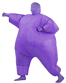 Adult Purple Blimpz Inflatable Costume