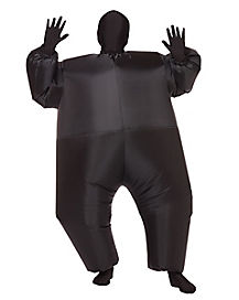 Kids Blimpz Black Inflatable Costume