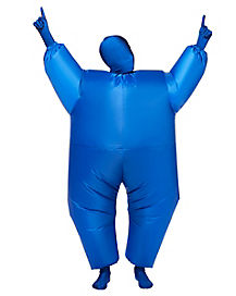 Kids Blimpz Blue Inflatable Costume
