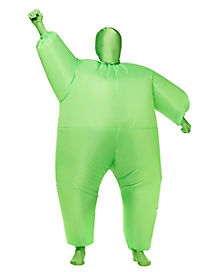 Kids Blimpz Green Inflatable Costume