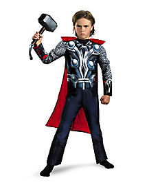 Thor Avengers Classic Muscle Child Costume