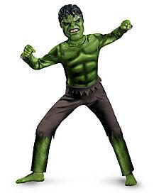 Hulk Avengers Classic Child Costume