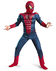 Kids Muscle Spiderman Costume - Spiderman Movie