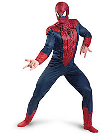 Adult Spiderman Plus Size Costume - Spiderman Movie