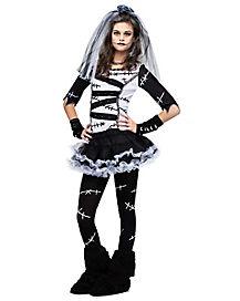 Monster Bride Tween Costume