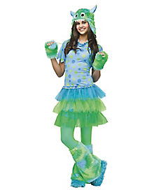 Teen Miss Monster Costume