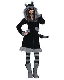 Tween Sweet Raccoon Costume