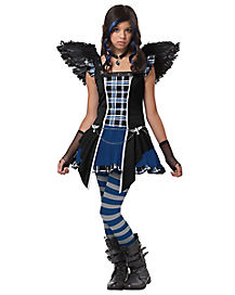 Jasmine Becket-Griffith Strangeling Raven Tween Costume