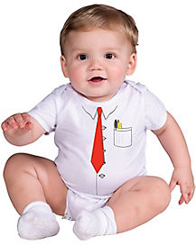 Baby One Piece Businessman Costume