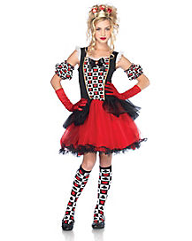 Playing Card Queen Tween Costume