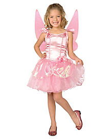Light-Up Petal Fairy Girls Costume