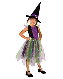 Kids Light Up Witch Costume
