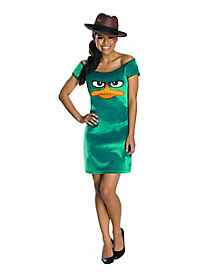 Teen Agent Perry Dress Costume - Phineas and Ferb